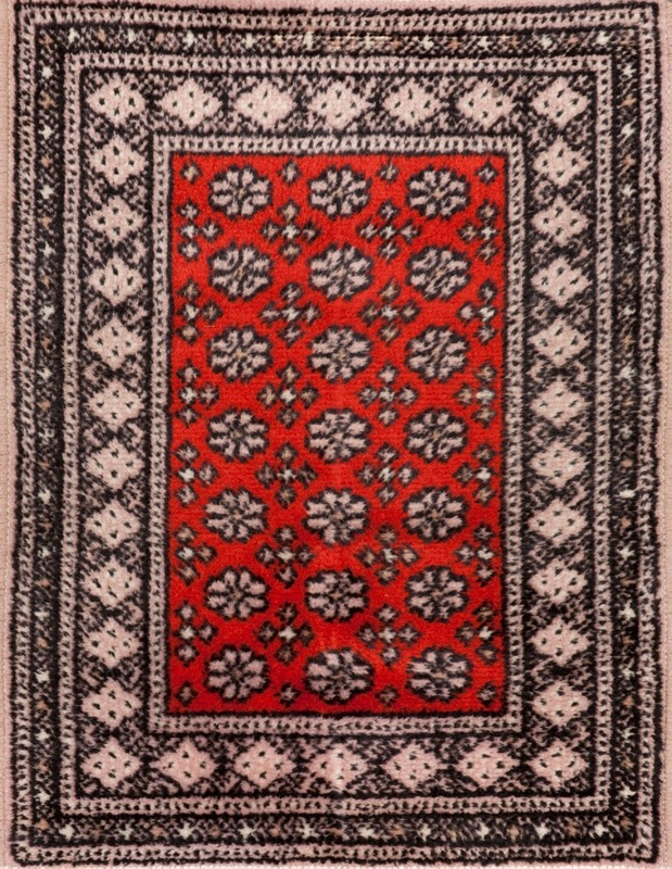 A set of four Turkish woollen carpets