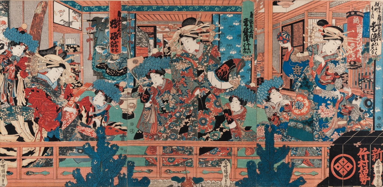 Kunisada (Japón, 1786 – 1865)