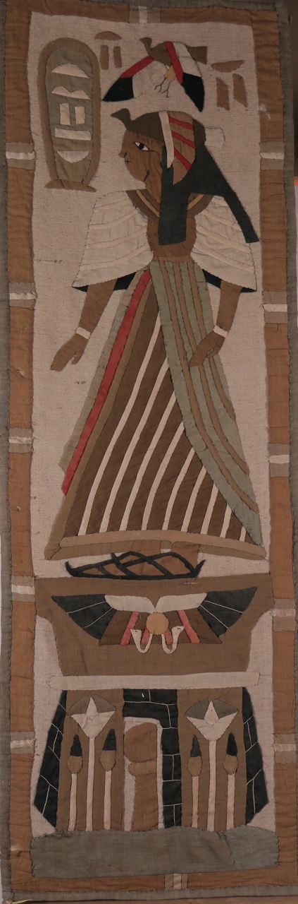 "Panel italiano bordado ""Retour de Egypt"" pps.S.XIX