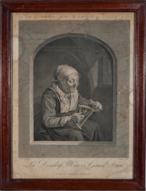 J.G. Wille after Gerard Dou, 18th Century
