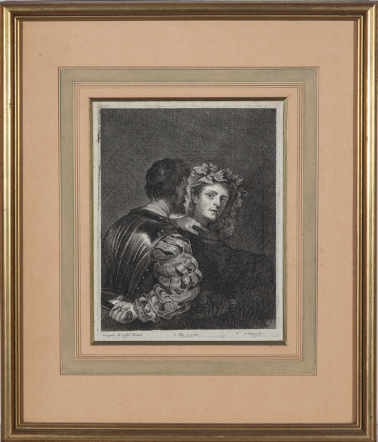 I.Troyen after Giorgione da Castelfranco