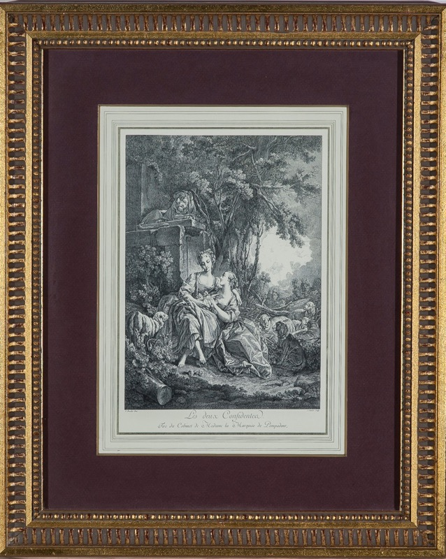 S. Ouvrir after F. Boucher, France 18th Century
