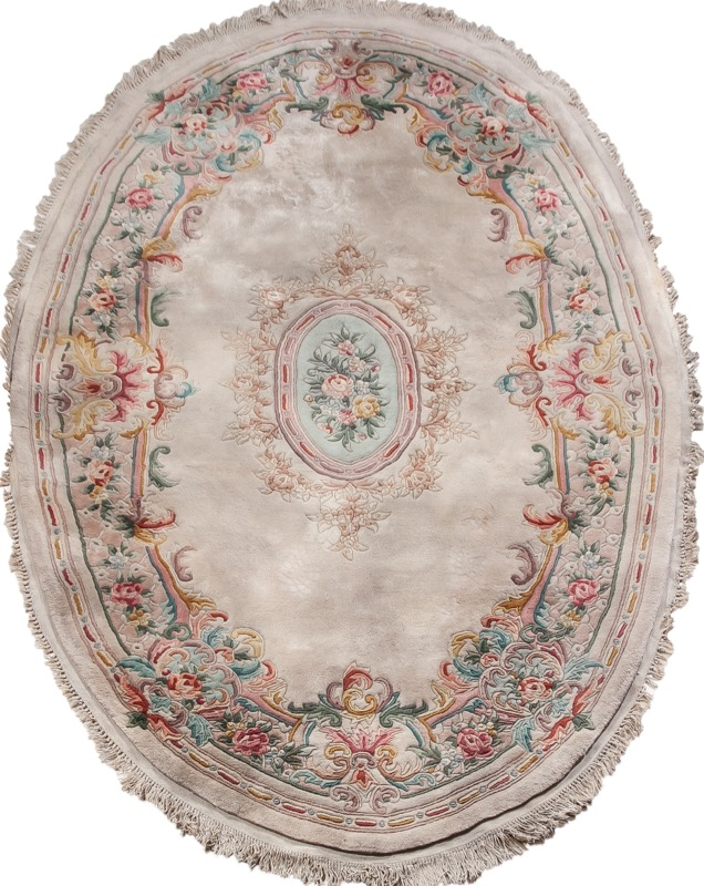 Alfombra oval china