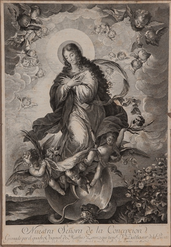 Juan Antonio Salvador Carmona (La Nava del Rey, Valladolid, 1740 - Madrid, 1805) after Mateo Cerezo