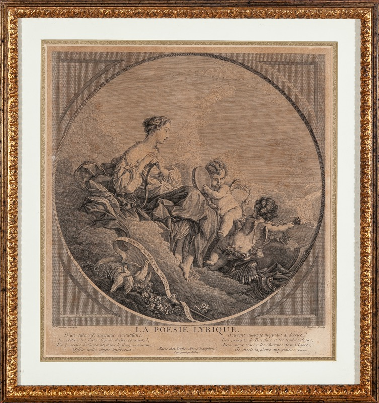 Cl. Duflos after F. Boucher
