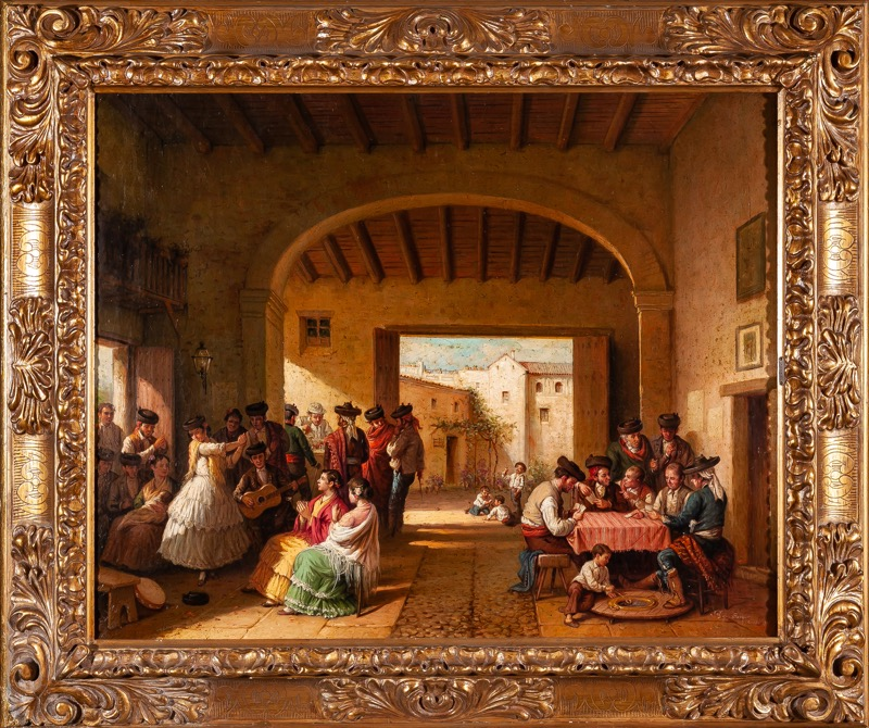 Joaquín Domínguez Becquer (Sevilla, 1834 - Madrid, 1870)