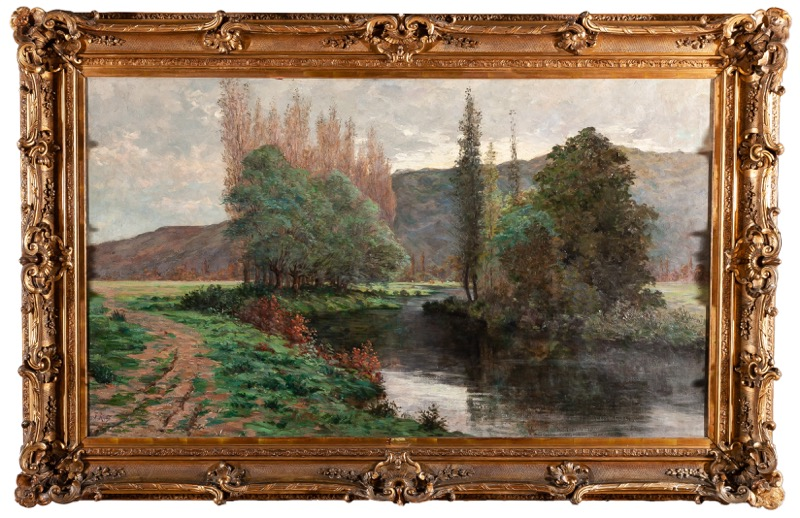 Hugues Fernand Ropion (France, 20th Century)