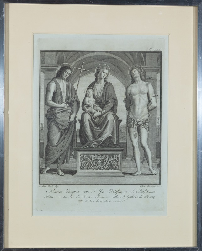 Cosimo Colombini (Orvieto, 1750 - 1812) after Pietro Perugino (Perugia, c. 1448 - 1523)