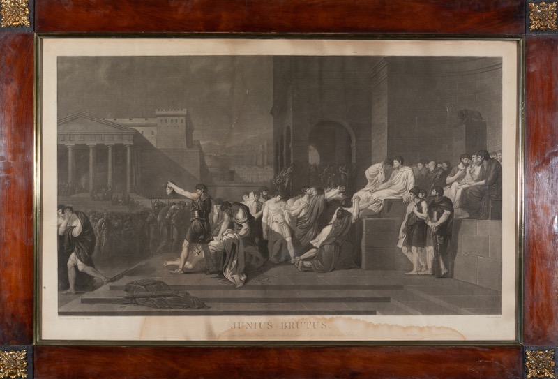 Gravé par Pierre Charles Coqueret (Paris, 1761 - 1832) after Guillaume Guillon Lethiere (Guadalupe, 1760 - Paris, 1832)