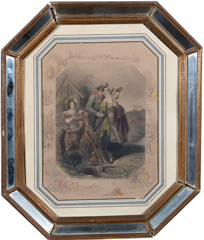 """Fête galant"", 19th Century