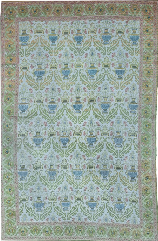 A Spanish knot carpet after models of the province of Cuenca