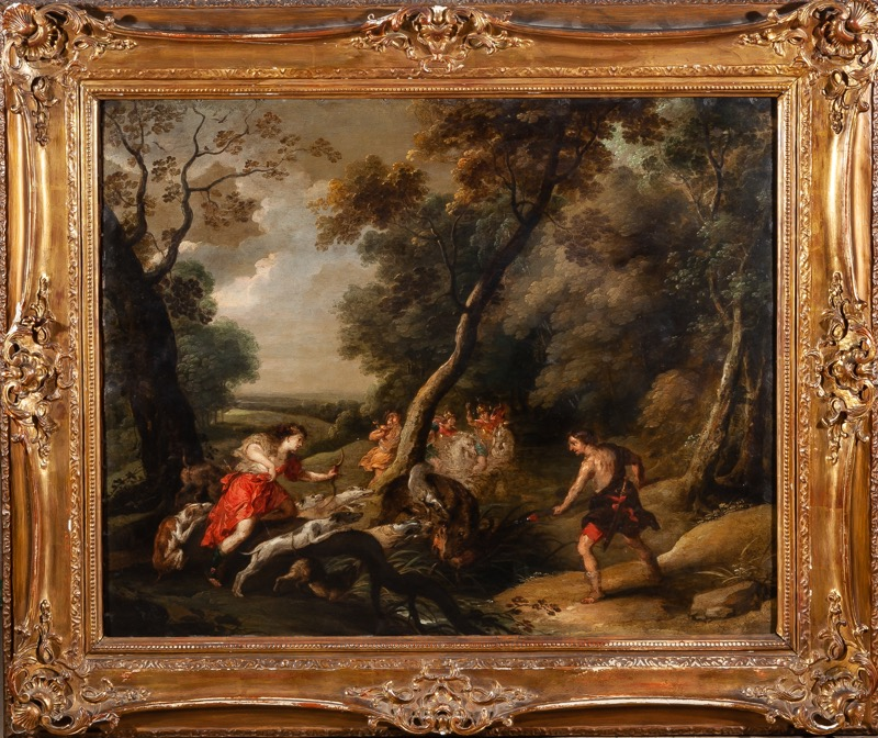 Flemish School 17th Century. Circle of Theodor van Thulden