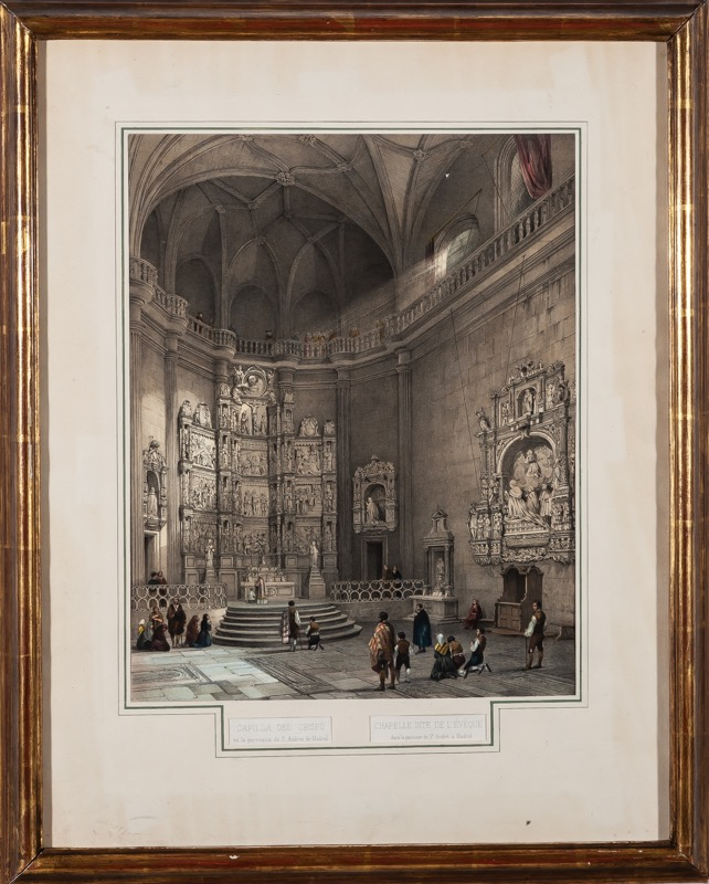 Genaro Pérez Villamil (Ferrol, 1807 - Madrid, 1854)