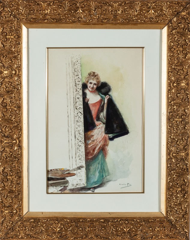 Cecilio Plá y Gallardo (Valencia, 1860 - Madrid, 1934)