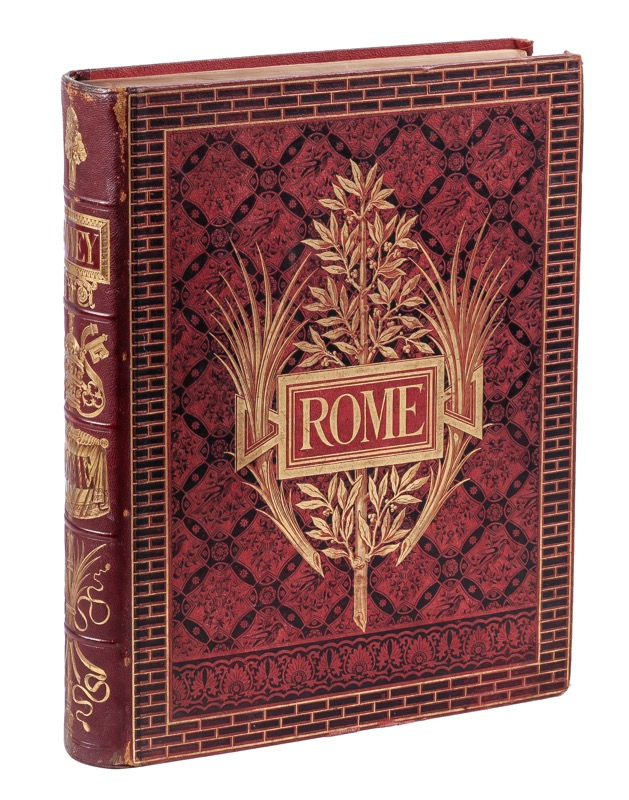 "WEY, Francis: ""Rome: Description et Souvenirs"" Paris, 1875