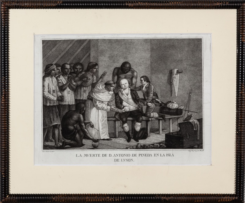 José Vazquez after Francisco Ravanet