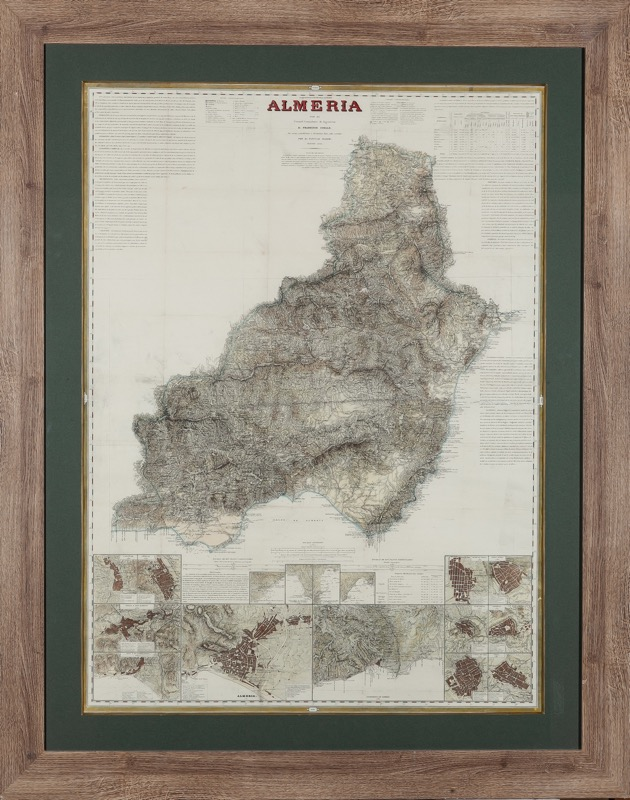Francisco Coello and Pascual Madoz, 19th Century