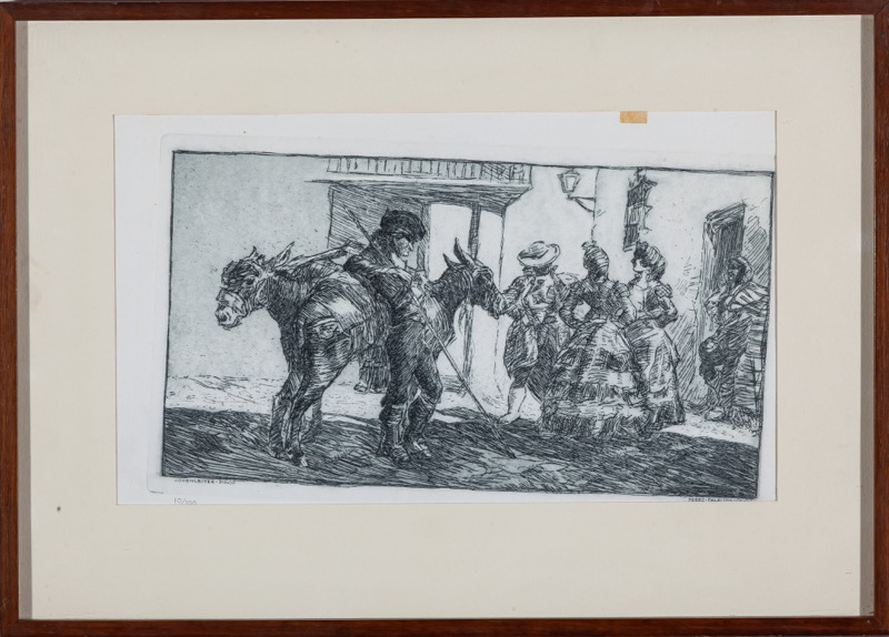 Julio Pérez Palacios (1903 - 1976) after Francisco Hohenleiter Castro (Cádiz, 1889 - Seville, 1968)