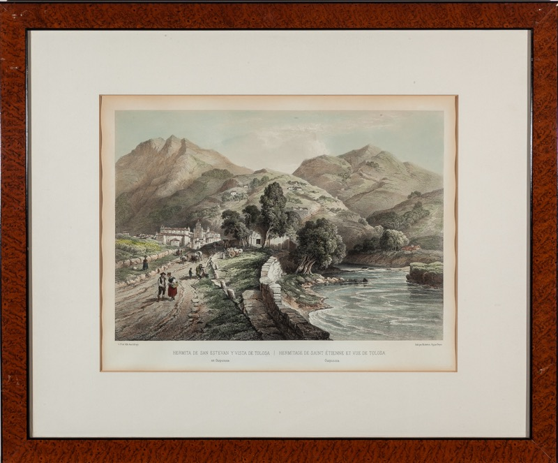Bichebois y Bayot after Genaro Pérez Villaamil