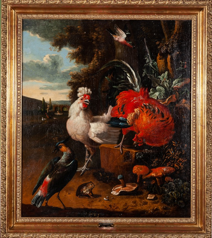 Attributed to Melchior de Hondecoeter (Utrecht, 1636 - Amsterdam, 1695)