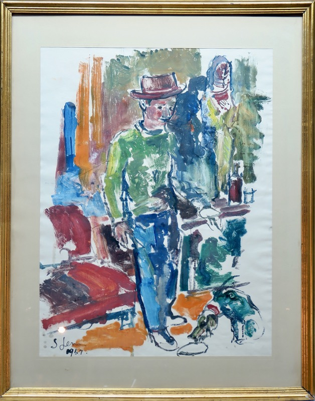 Joan Serra Melgosa (Lérida, 1899 - Barcelona, 1970)